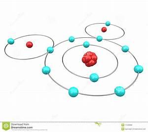Water - H2o Atomic Diagram Stock Illustration  Illustration Of Atomic