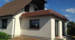 extension maison bois toit plat de maison quimper eco With extension de maison avec toit plat