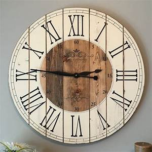 Best rustic wall clocks ideas on large
