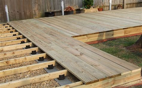 Deck Joist Spacing Uk by Landscaping Patios Decking Pergolas Useful Bloke