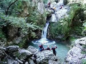 Canyoning  Bovec  Slovenia