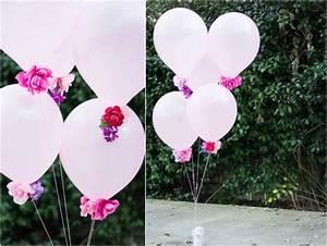 Künstliche Blumen Für Draußen : basteln mit luftballons 11 dekoideen zum selbermachen ~ Eleganceandgraceweddings.com Haus und Dekorationen