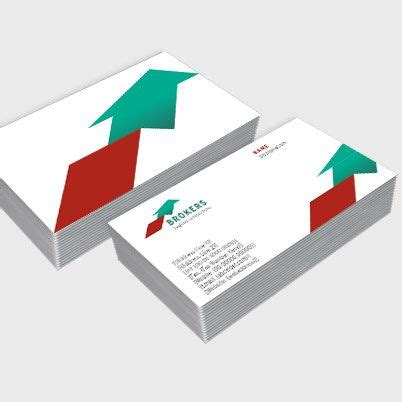 Single Sided Visiting Cards Printing  One Sided Business