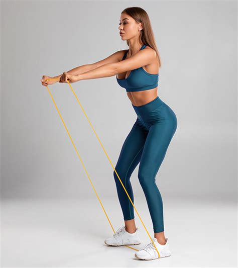 resistance band exercises  body toning fitness