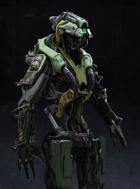 cool robots ideas  pinterest    cyborg