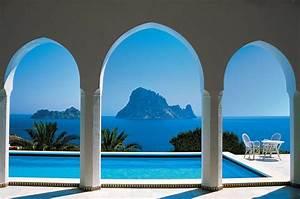 Fototapete Fenster Aussicht : fototapete pool mit aussicht im mittelmeer azurblau ~ Michelbontemps.com Haus und Dekorationen