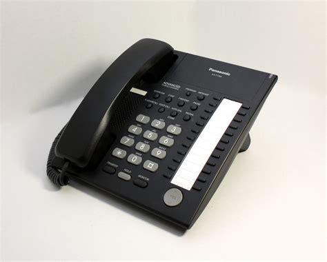 polycom analog desk phone vista phones panasonic kx t7750 black telephone 1 5