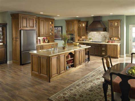 kitchen paint colors 2018 with golden oak cabinets ideas