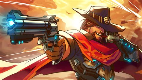 Overwatch Wallpaper Anime - mccree anime artwork overwatch wallpapers