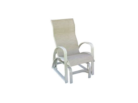 Patio Furniture Replacement Slings Florida by E 86gl Sling Glider