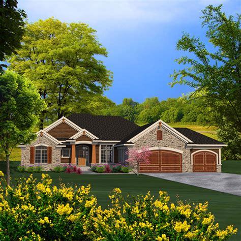 briton rustic craftsman home plan   house plans