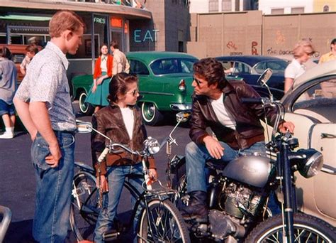 motorcycles  fonz   happy days started