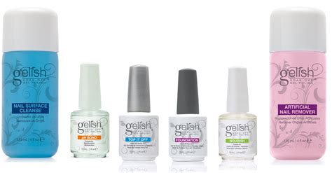 Gelish Gel Nail Polish Basix Care Kit + Professional Gel