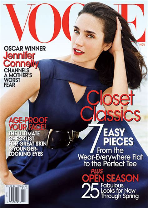 jennifer connelly vogue march 2013 the girl is polished