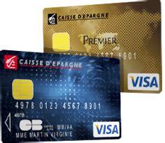 carte bleu visa et carte visa premier caisse d epargne