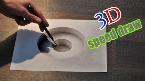 drawing  hole illusion anamorphic painting youtube