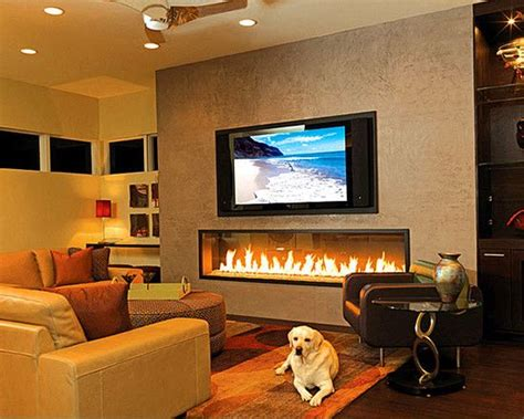 tv and fireplace adding the dazzling fireplace to warm your home interior