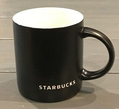 Check out starbucks menu and get nutritional information about each menu item. STARBUCKS Coffee Mug Cup 2010 Black Matte Etched 14 oz | eBay