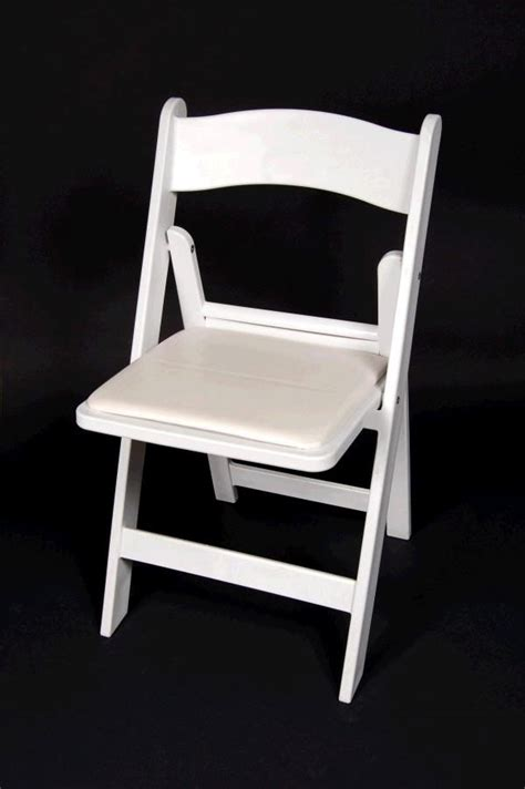 chair white padded rentals detroit mi where to