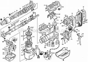 Bosch Breaker Hammer Parts Diagram  U2022 Downloaddescargar Com