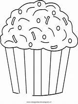 Cupcake Coloring Sprinkles Colorare Muffin Malvorlage Disegno Cupcakes Ausmalbilder Disegni Chocolate Template Printables Diverse Malvorlagen Immagini Gratis Ausmalen Birthday Netart sketch template