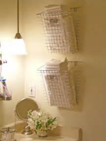 bathroom basket ideas bathroom towel storage 12 creative inexpensive ideas