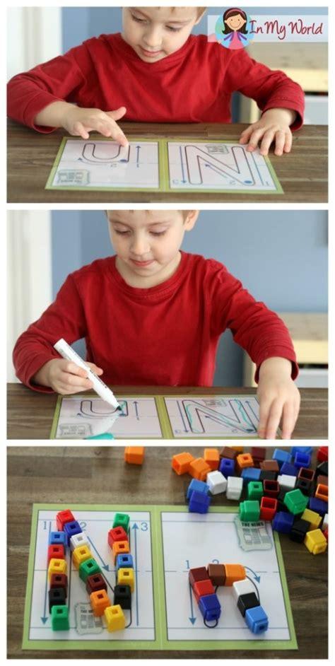 preschool letter    world
