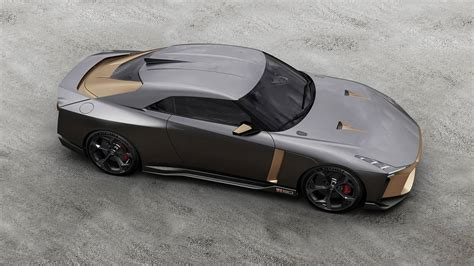 New Car Design : Nissan Gt-r 50 By Italdesign Celebrates Two Golden