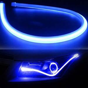 60cm Flexible Car Soft Tube Led Strip Light Drl Daytime