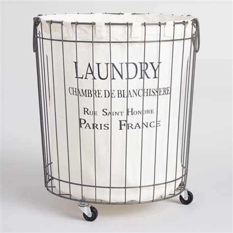 wire laundry basket on wheels laundry baskets with wheels sort organize arrange items 1918