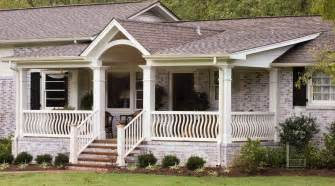 ranch home plans with front porch front porch designs for ranch homes pictures