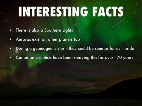 facts about the northern lights the northern lights by theresa medina