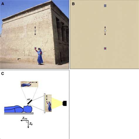 Schematic representation of visual stimuli. A and B: pictorial stimulus...   Download Scientific ...