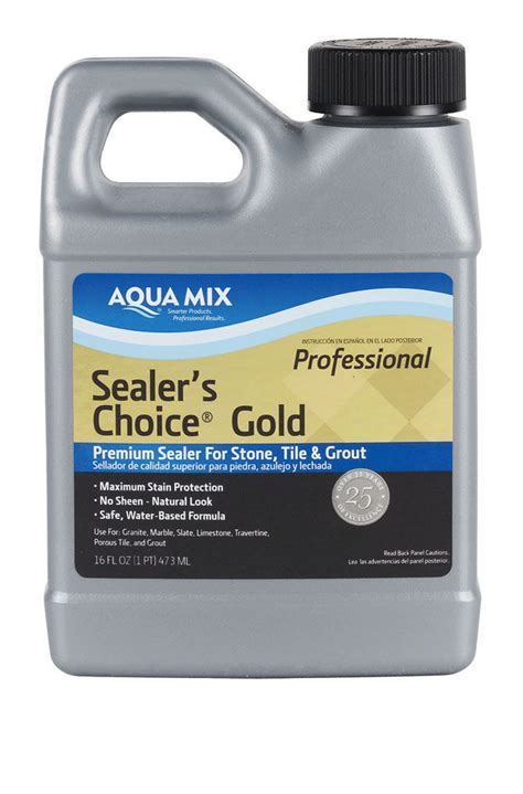 Aqua Mix, Sealer's Choice Gold   Non Toxic, Long Lasting