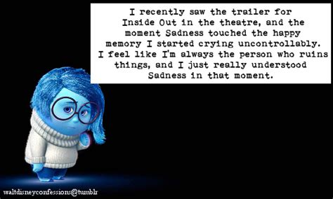 Sadness Crying Inside Out Quotes