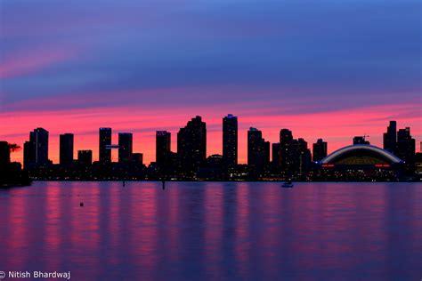 Houston Skyline Hd Wallpaper Toronto Skyline Sunset Silhouette Explored 12 Jul 2015 Flickr