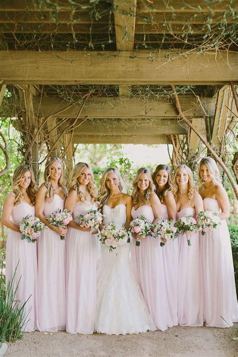 Lovely And Lush Romantic Wedding Bridesmaids