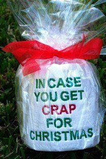 christmas grab bag gifts toilets and gifts on