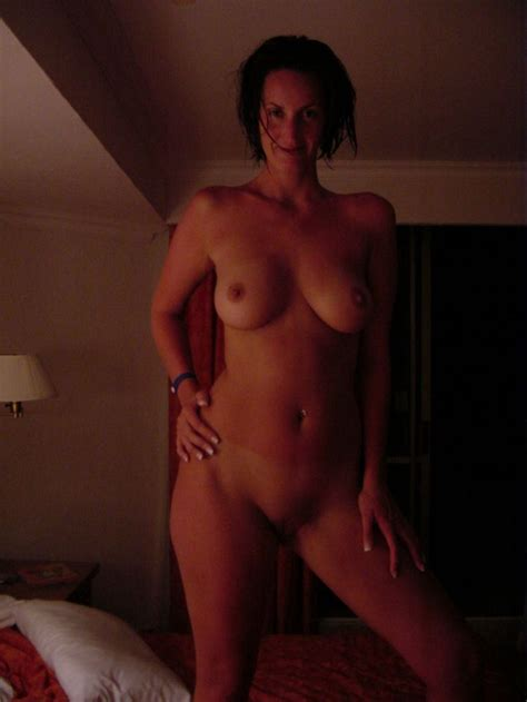 Hot Big Boobed Brunette Milf Fresh Out The Shower Milf