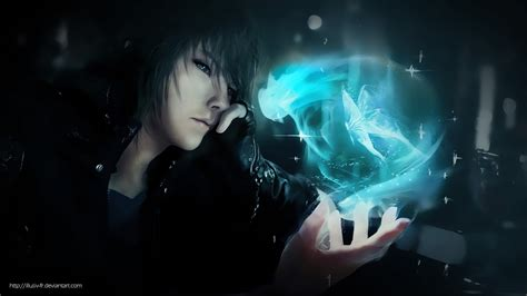 Final Fantasy 7 Backgrounds Noctis Lucis Caelum Final Fantasy Xv Wallpaper By Illusiv Fr On Deviantart