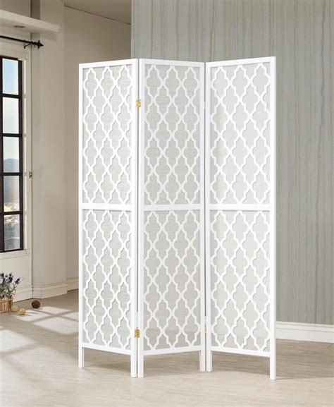 901908 3panel Room Divider By Coaster