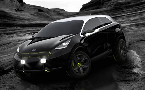 Kia Niro Concept by 2013 Kia Niro Concept 2 Wallpaper Hd Car Wallpapers Id