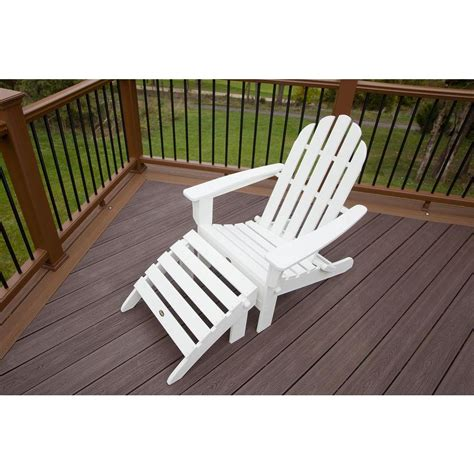 trex outdoor furniture cape cod classic white 2