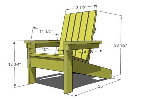 adirondack chair plans kids diy  plans