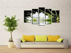 tableau zen dans un bureau hexoa With chambre bébé design avec fleur de bach origine