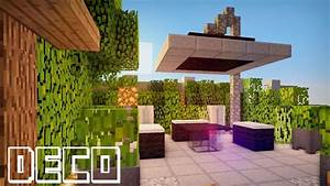 minecraft creer un jardin moderne youtube With awesome decoration jardin exterieur maison 9 deco maison americaine