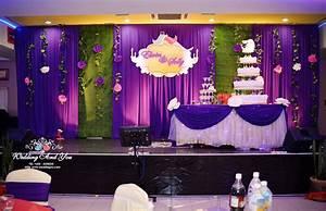 Church anniversary stage decoration, wedding church th ...