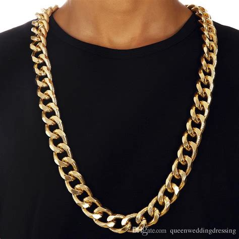 2017 90cm Big Chunky Hiphop Gold Chain For Men Jewelry