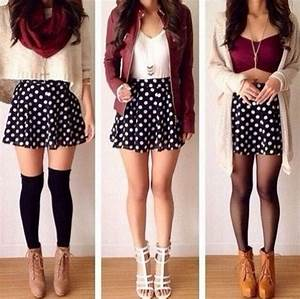cute school outfits for teen girls. different ways to wear ...