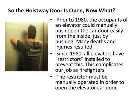 Elevator Key Use
